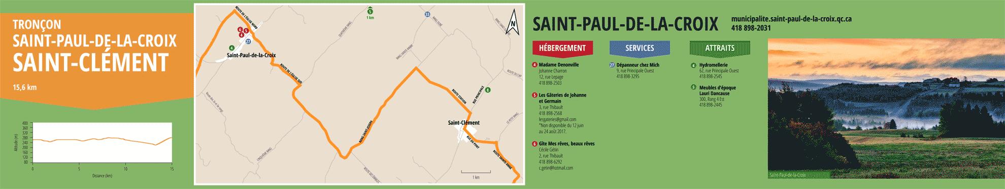 La Route des passants - Tronçon Saint-Paul-de-la-Croix/Saint-Clément